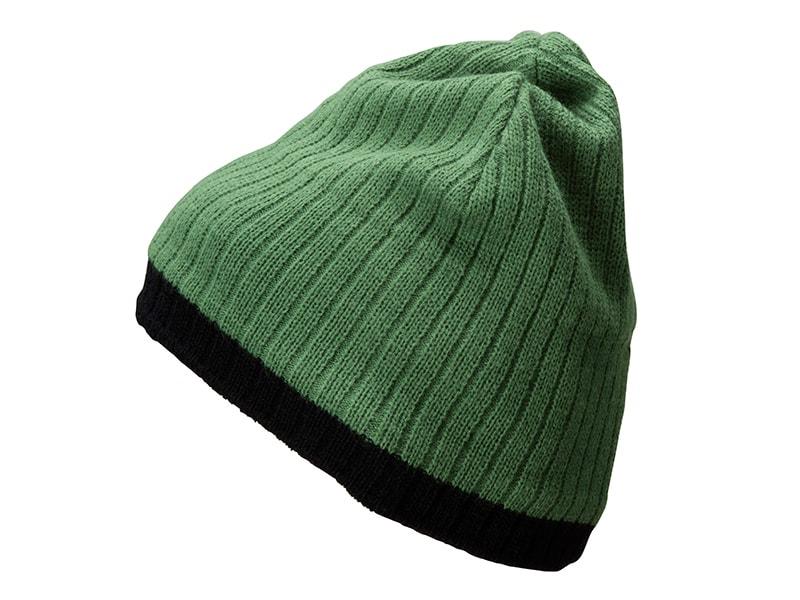 Zimní čepice MB7102 - Zelená / černá