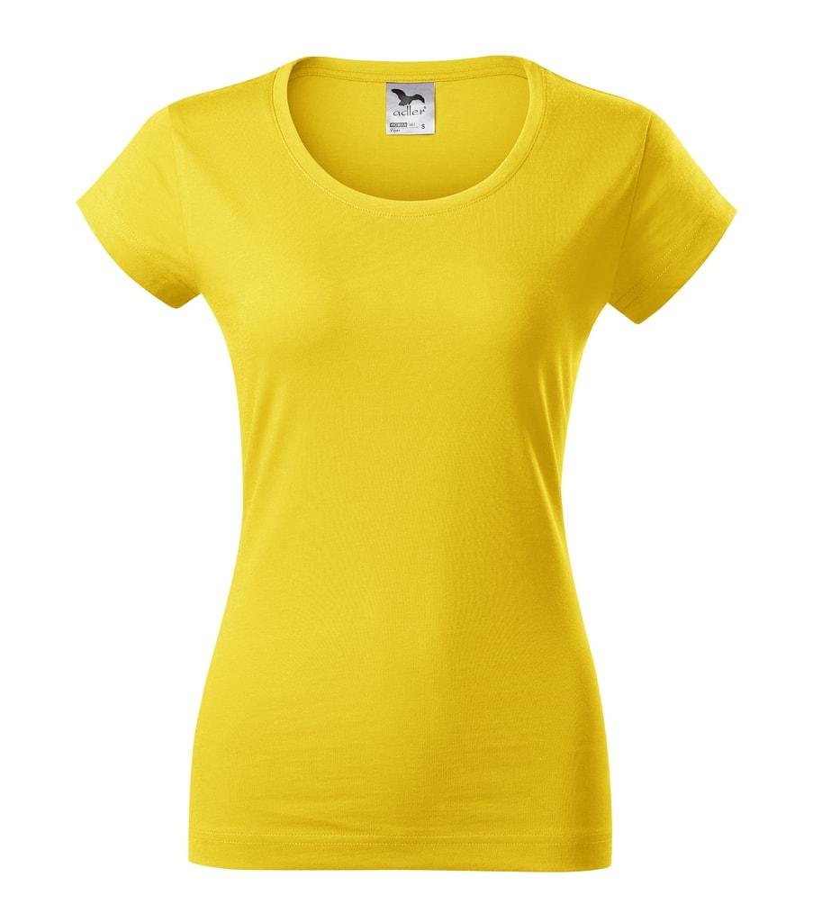 Dámské tričko Viper Adler - Žlutá | L