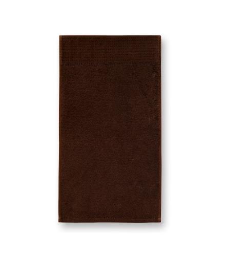 Bambusový golfový ručník Adler Malfini - Kávová