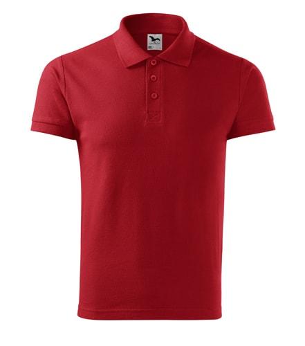Pánská bavlněná polokošile Adler Cotton - Červená | XXXL