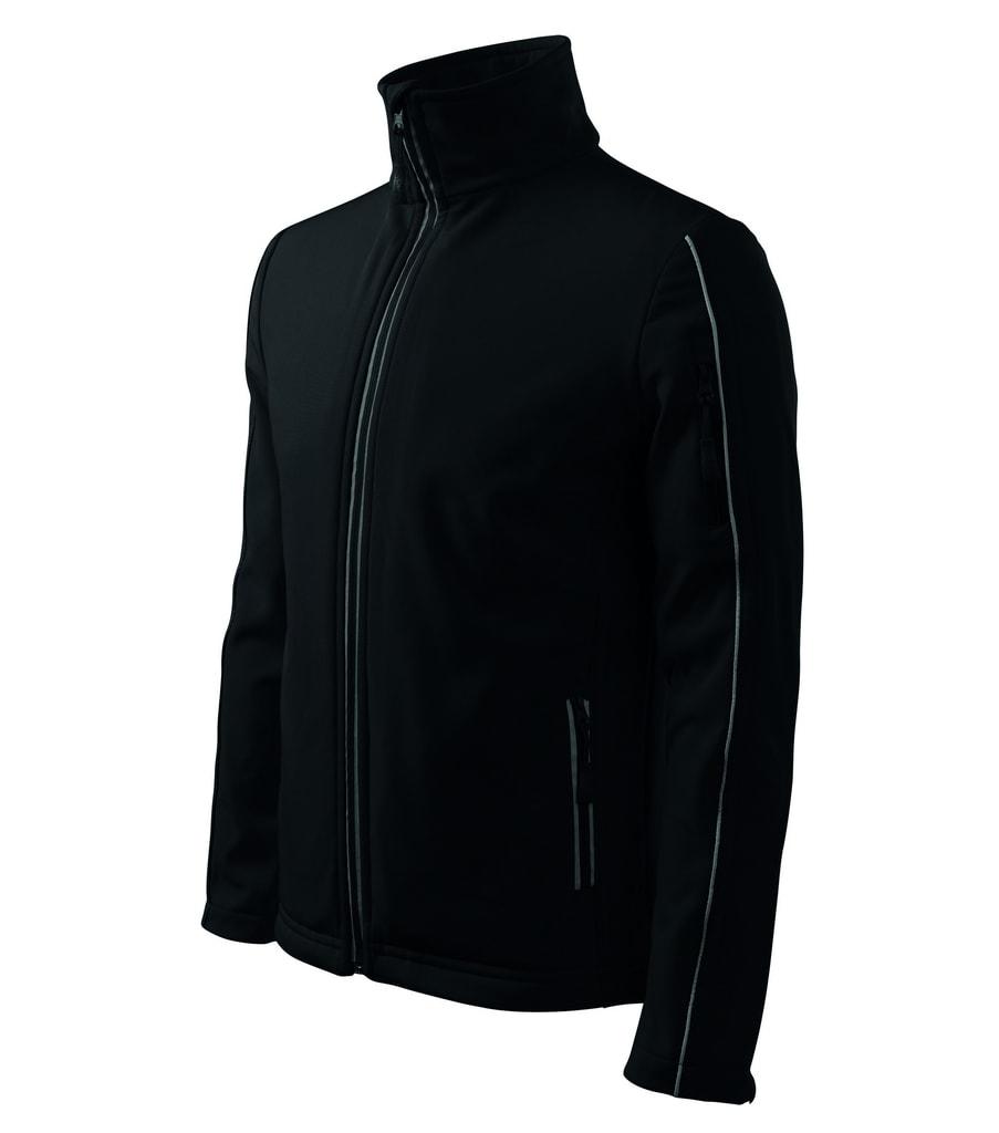Pánská softshellová bunda Jacket - Černá | XXXL