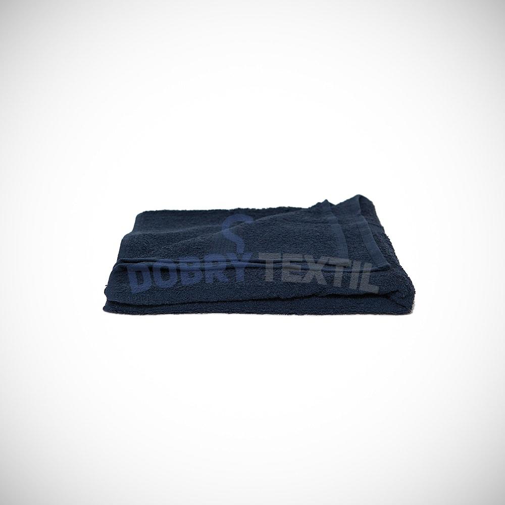 Reklamní ručník 50x100 - Tmavě modrá | 50 x 100 cm