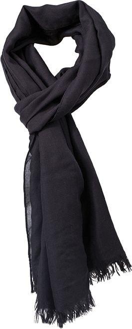 Lehká šála Summer Breeze MB6569 - Černá | 190 x 77 cm