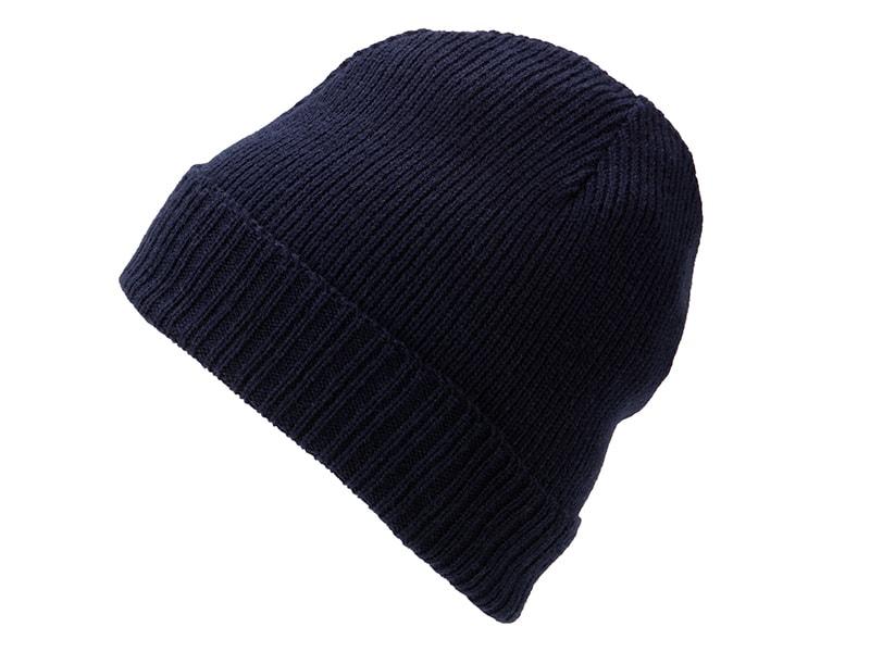 Pletená čepice MB7111 - Tmavě modrá