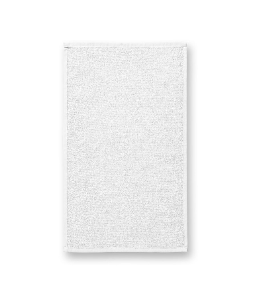 Ručník Terry Hand Towel - Bílá | 30 x 50 cm