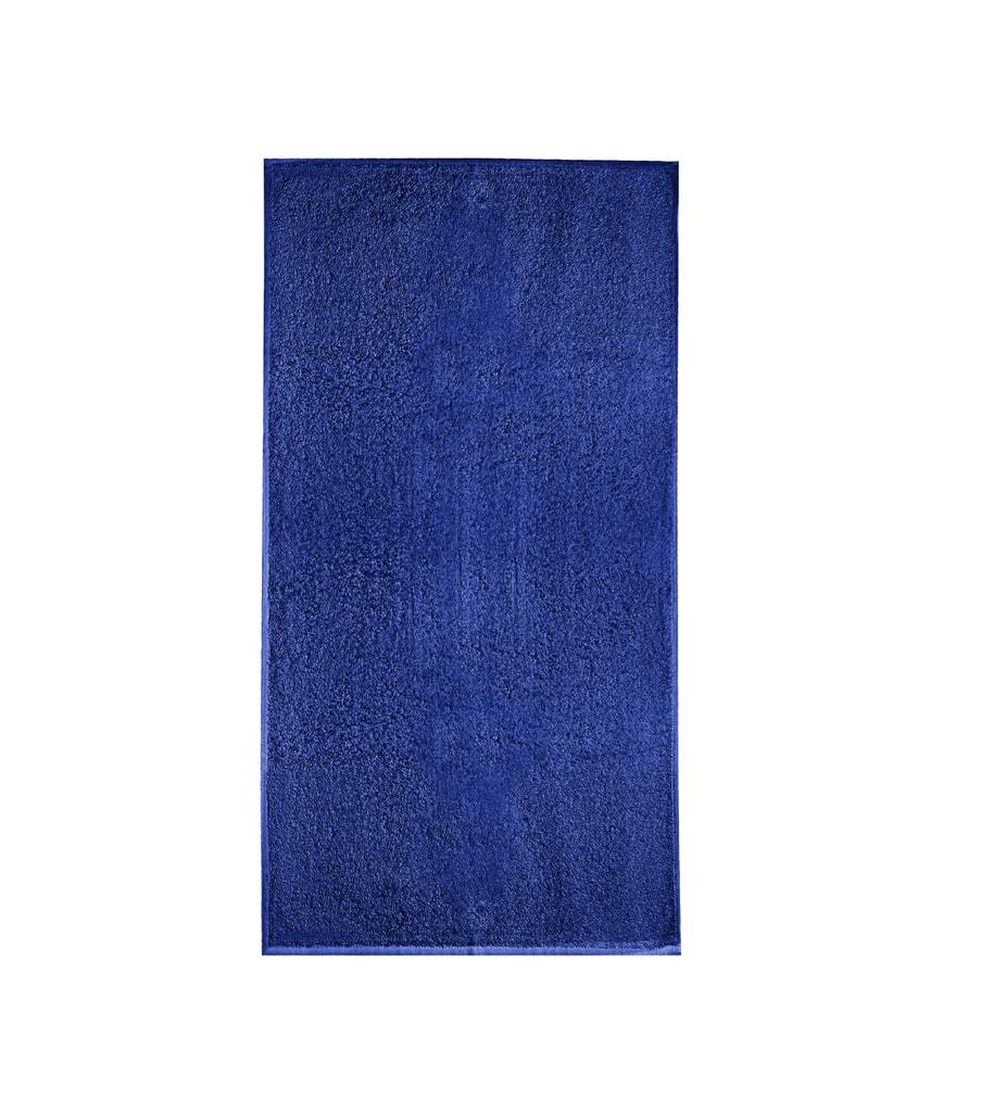 Ručník bez bordury Terry Towel - Královská modrá | 50 x 100 cm