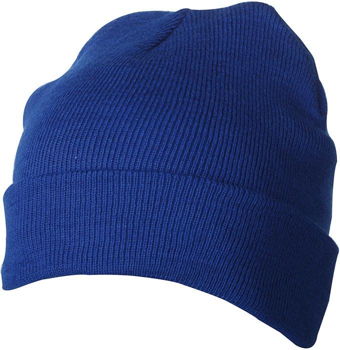 Zimní pletená čepice Thinsulate MB7551 - Královská modrá