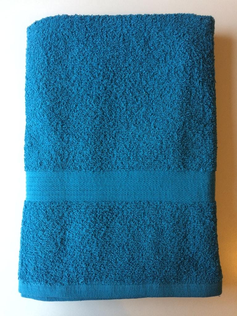 Reklamní ručník 50x100 - Tyrkysová | 50 x 100 cm