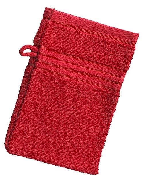 Myrtle Beach Umývacia žinka MB425 - Indická červená