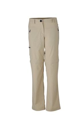 Dámské outdoorové kalhoty 2v1 JN582 - Stone | S