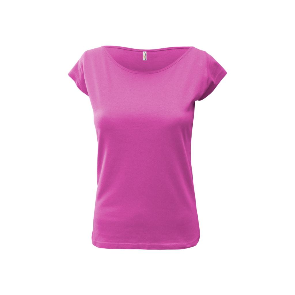 Dámské tričko Elegance - Malinová   S