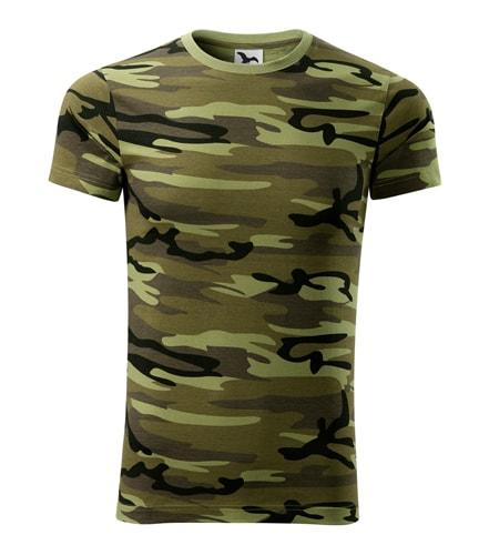 Pánské maskáčové tričko Adler - Maskáčová zelená | XL