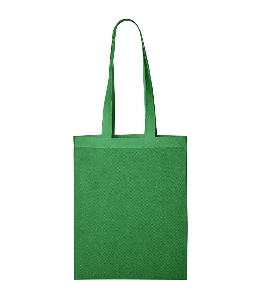 Malá nákupní taška Bubble - Středně zelená | uni