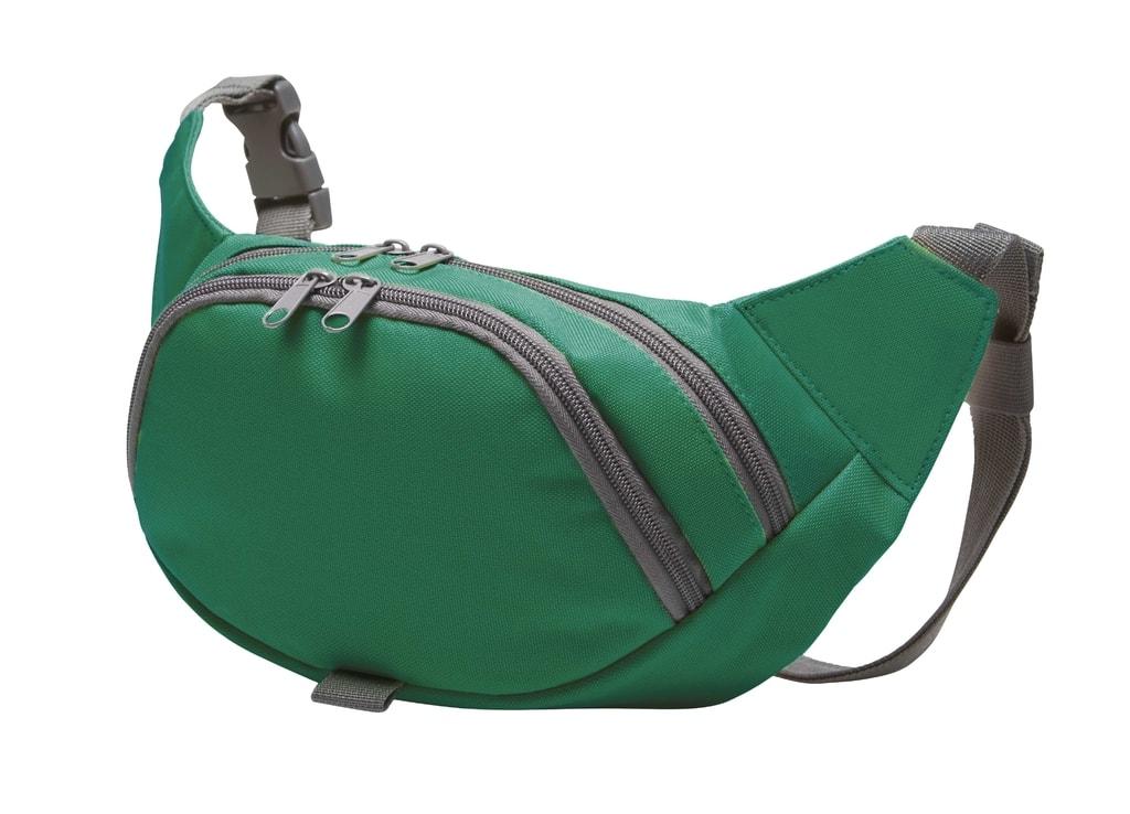 Sportovní ledvinka SOLUTION - Zelená