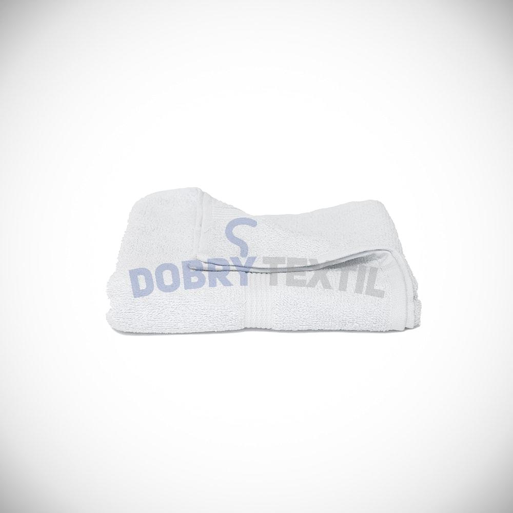 Reklamní osuška 70x140 - Bílá | 70 x 140 cm