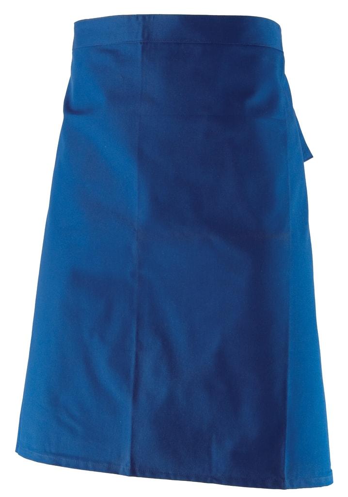 Kuchařská zástěra do pasu Ida - Modrá   72 x 62 cm