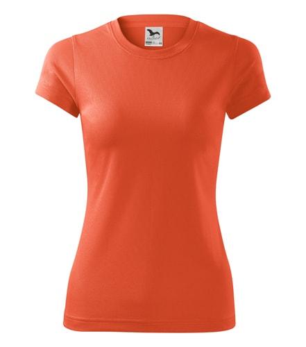 Dámské sportovní tričko Adler Fantasy - Neonově oranžová | L