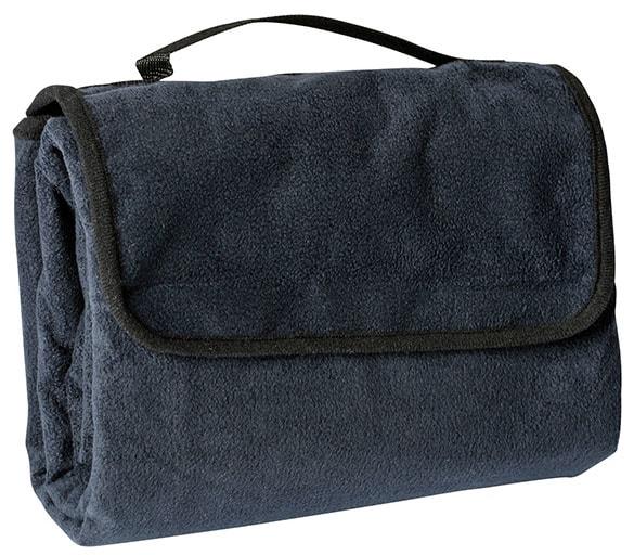 Pikniková deka 130x150 cm JN953 - Tmavě modrá | 130 x 150 cm