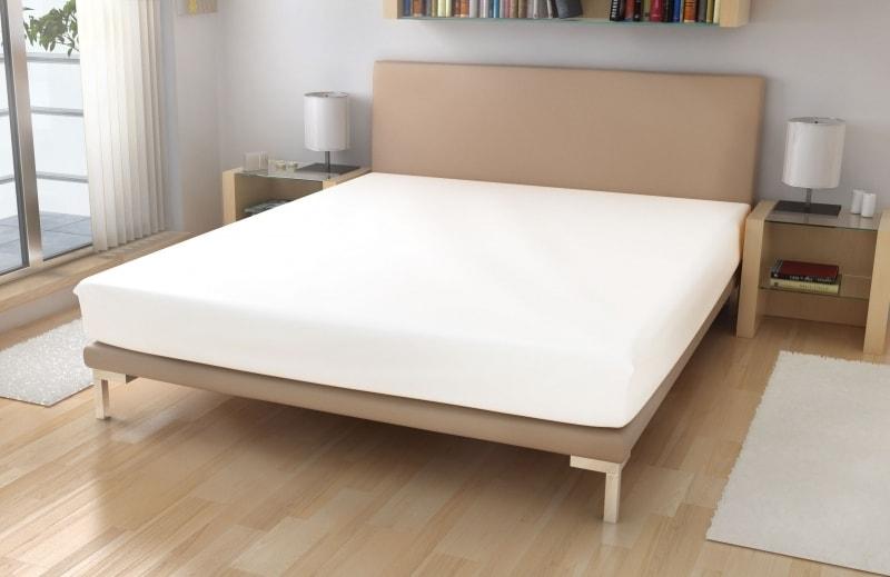 Froté prostěradlo - Bílá   180 x 200 cm