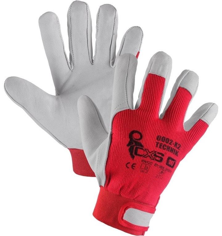 Kombinované pracovní rukavice TECHNIK - 10 2f556e8471