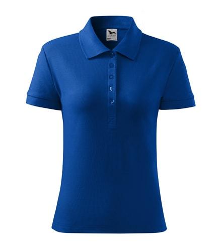 Dámská polokošile Cotton Heavy - Královská modrá | XL