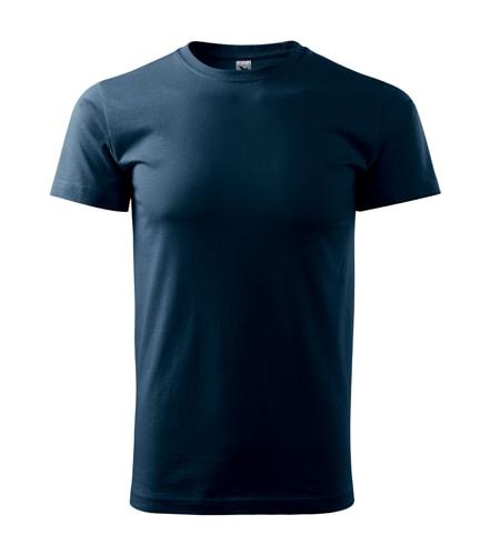 Pánské tričko Basic Adler - Námořní modrá | XXL