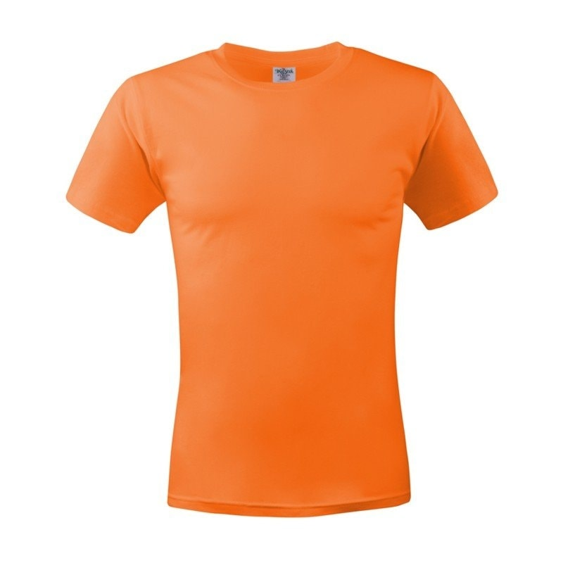 Pánské tričko ECONOMY - Oranžová | XL