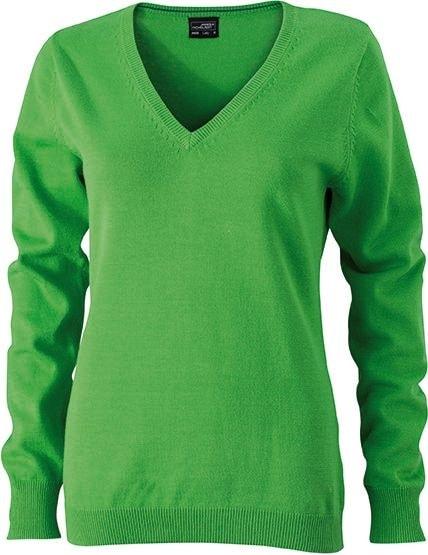 Dámský bavlněný svetr JN658 - Zelená | M