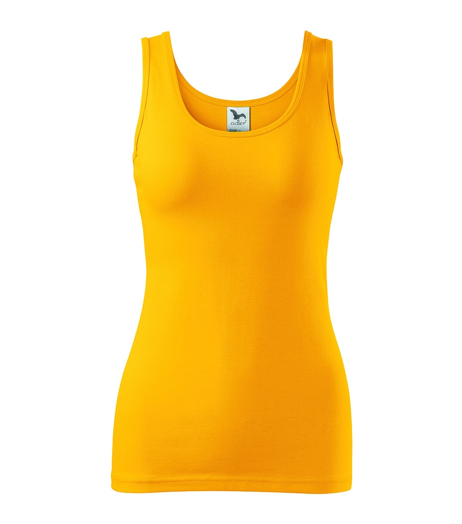 Dámské tílko - Žlutá | XL