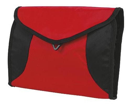 Toaletní taška na zavěšení SPORT - Červená