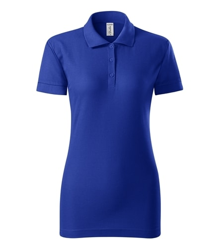 Pique dámská polokošile Joy - Královská modrá | XL