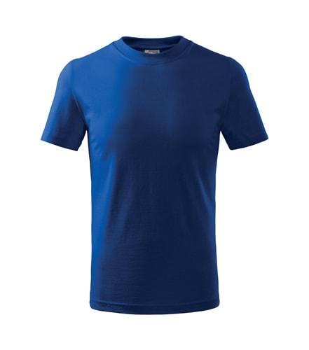 Dětské tričko Basic - Královská modrá | 122 (6 let)