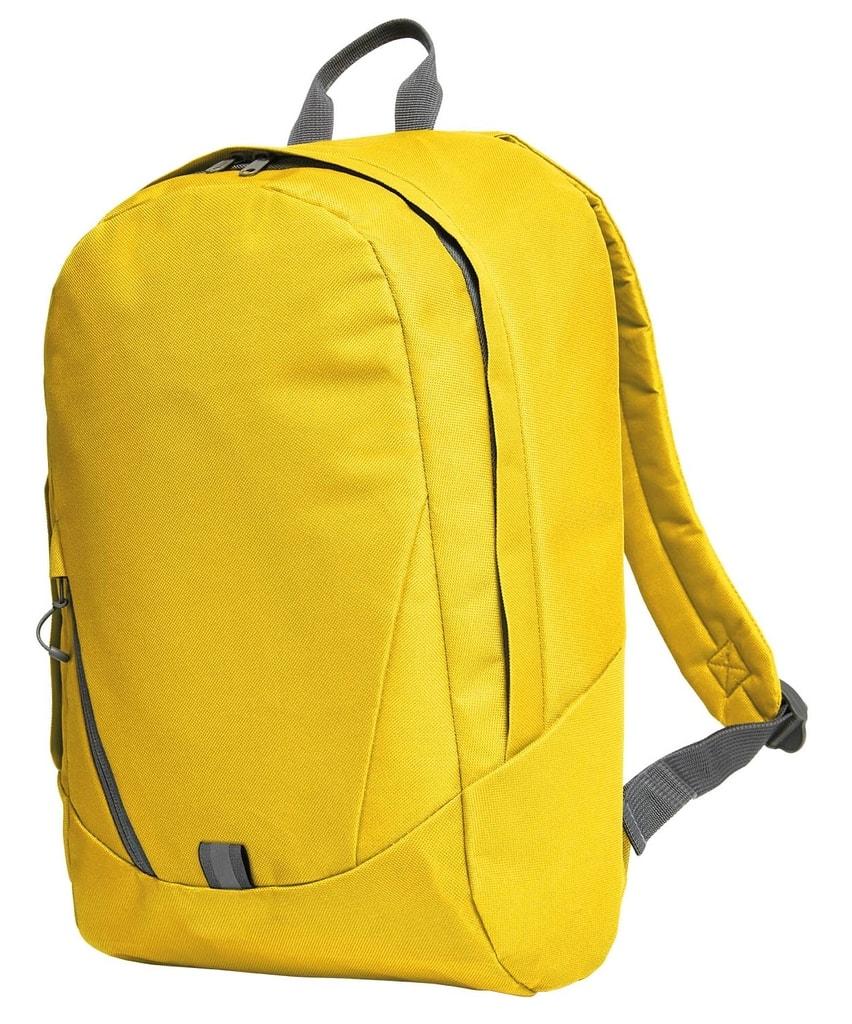 Školní batoh SOLUTION - Žlutá