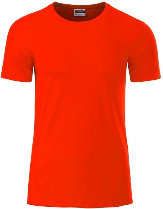 Klasické pánské tričko z biobavlny 8008 - Grenadina | M