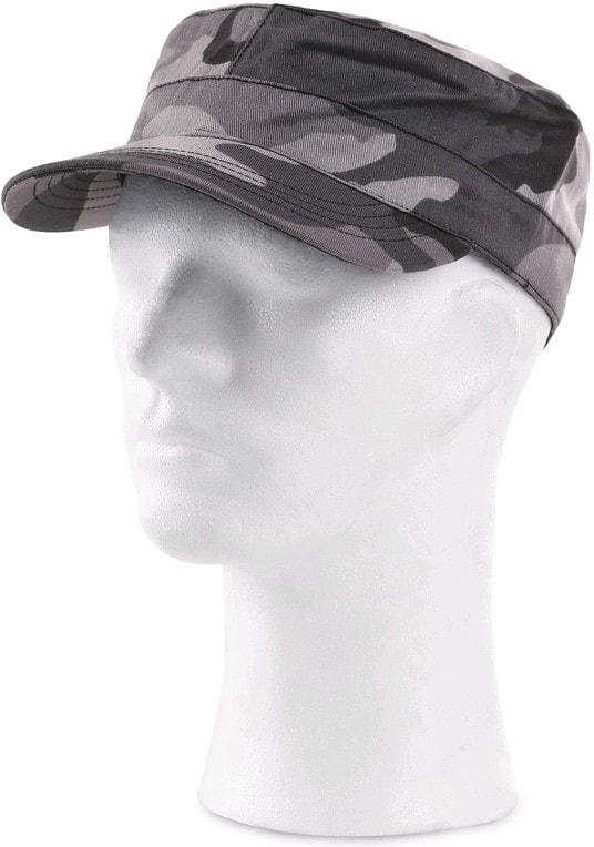 Maskáčová čepice šedá CXS VENATOR