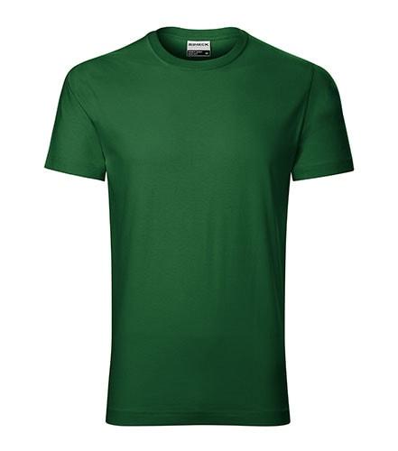 Pánské tričko Resist - Lahvově zelená | XXXXL