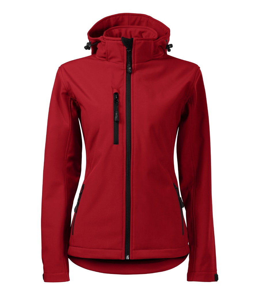 Dámská softshellová bunda Performance - Červená | XL