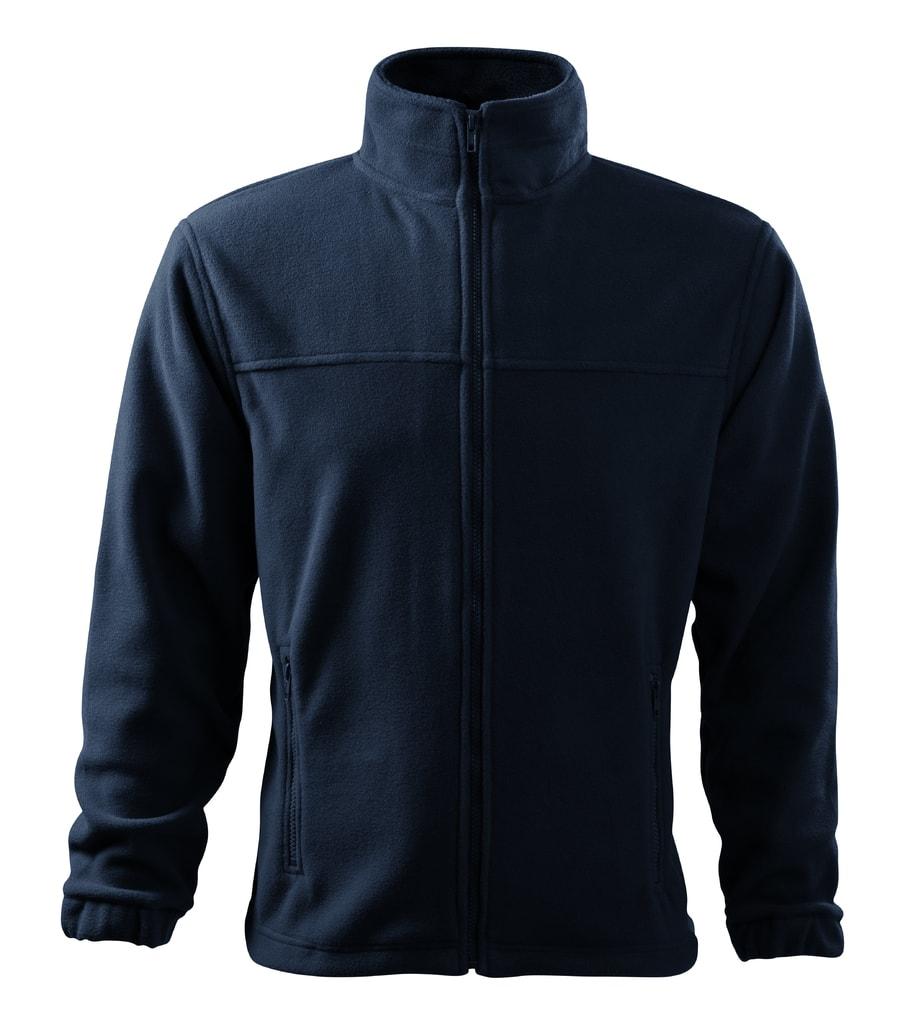 Pánská fleecová mikina Jacket - Námořní modrá | XXXXL
