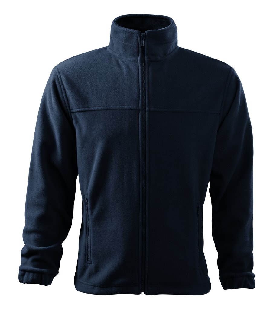 Pánská fleecová mikina Jacket - Námořní modrá | XL