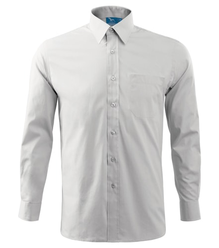 Pánská košile s dlouhým rukávem Adler - Bílá | XXXL