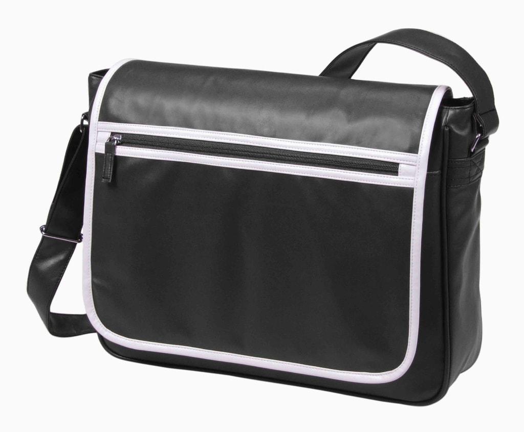 Kurýrní taška přes rameno RETRO - Černá