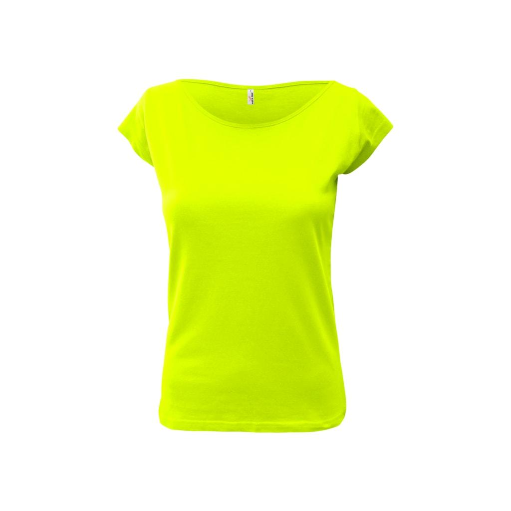 Dámské tričko Elegance - Limetková   S