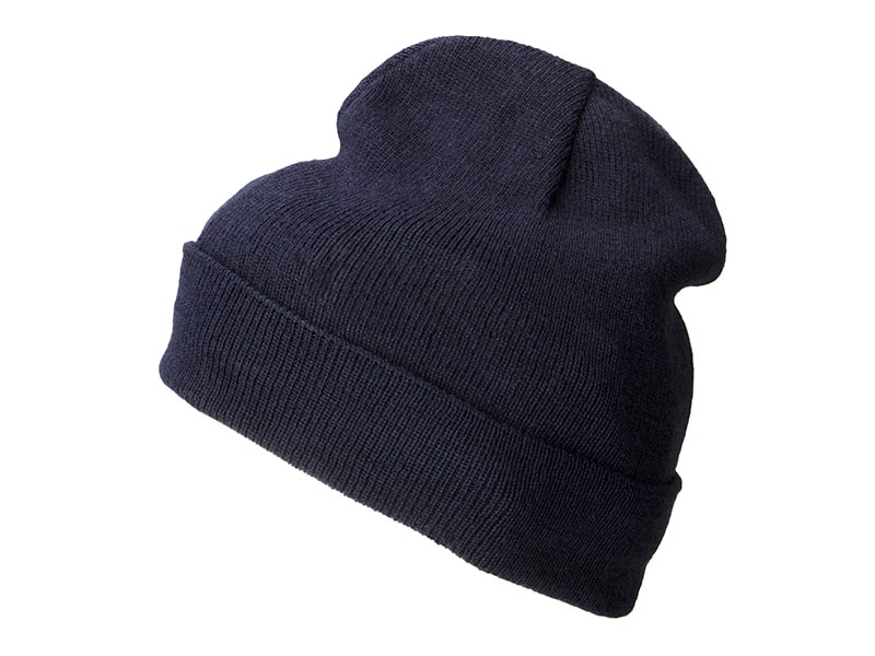 Lehká zimní čepice MB7112 - Tmavě modrá