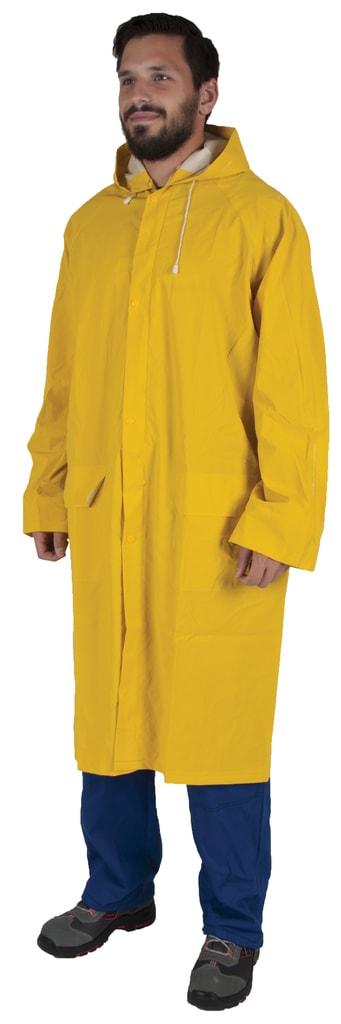 Nepromokavá pláštěnka Cyril - Žlutá | XXXL