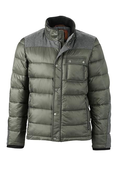 James & Nicholson Pánska zimná bunda JN1100 - Borovicově zelená | L