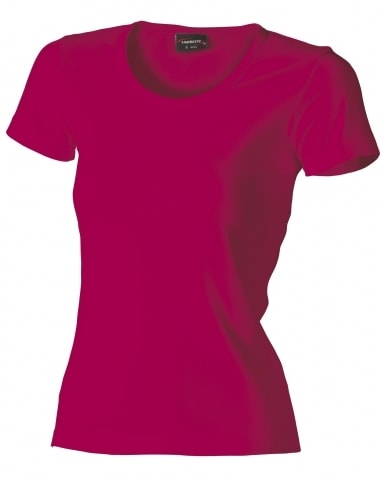 Dámské tričko HEAVY - Fuchsiová | S