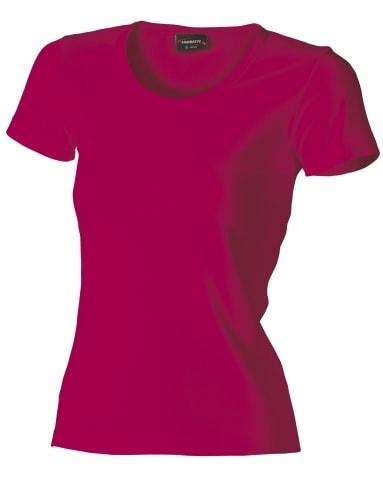 Dámské tričko HEAVY - Fuchsiová | XL