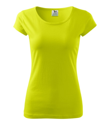 Dámské tričko Pure - Limetková | XL