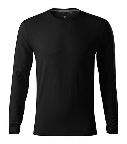 Pánské tričko s dlouhým rukávem Brave - Černá | S