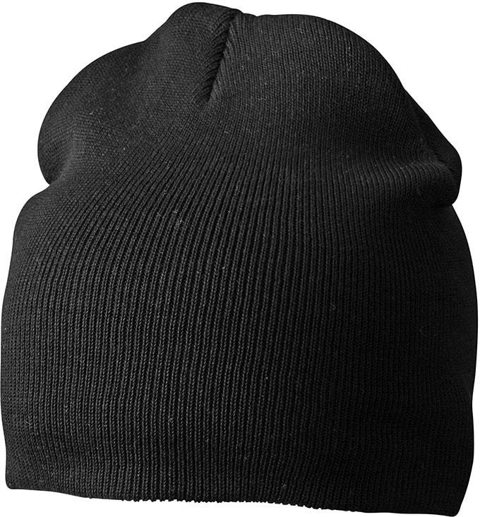 Zimní pletená čepice MB7926 - Černá